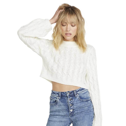VOLCOM KNITS UP TO U CR W SWH S