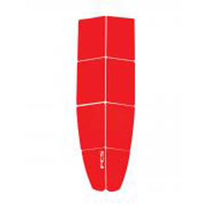 SUP PAD FCS DIMPLES FE RED