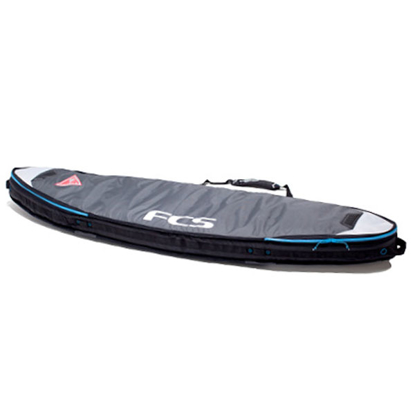 "SURF TORBA FCS DOUBLE TRAVEL COVER SHORT BOARD 7'0"" GRY"
