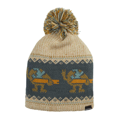 KAPA B FAIRISLE OATMEAL HEATHER UNI