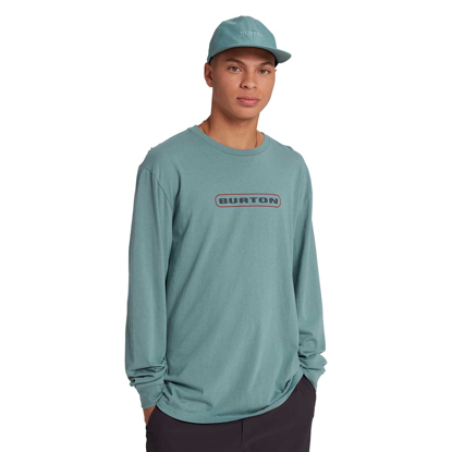 BURTON JEFFERSON LONG SLEEVE T-SHIRT TRELLIS XL