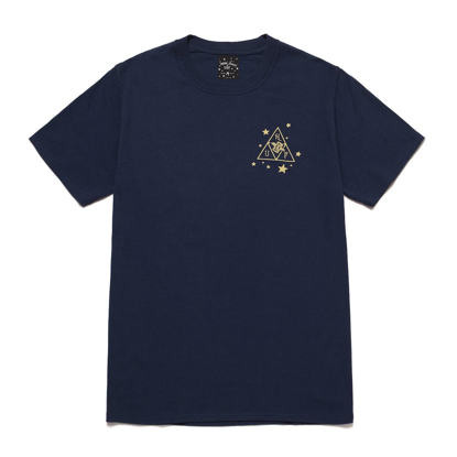 MAJICA HUF STARLIGHT T-SHIRT NAVY S