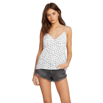 VOLCOM GOOD TO BE YOU TT W WHT S