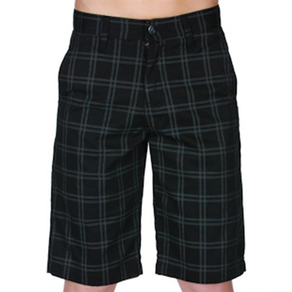 KR HLACE VOL KID FRICKIN PLAID BLK 22