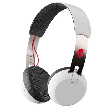 SLUSALKE SCDY GRIND WIRELESS ON-EAR WHT/BLK/RED
