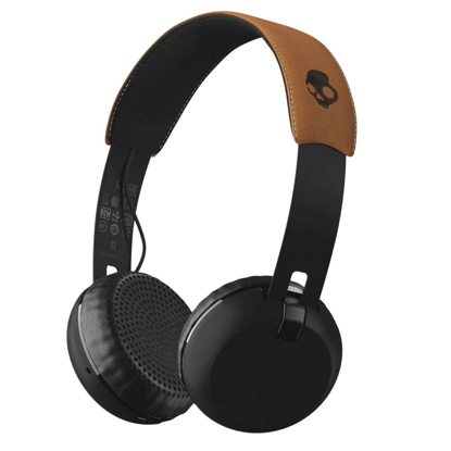 SLUSALKE SCDY GRIND WIRELESS ON-EAR BLK/BLK/TAN