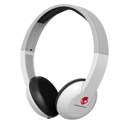 SLUSALKE SCDY UPROAR ON-EAR WIRELESS WHT/GRY/RED