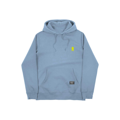 PULOVER GRIZZLY OG BEAR EMBROIDERED HO BABY BLUE/NEON YELLOW M