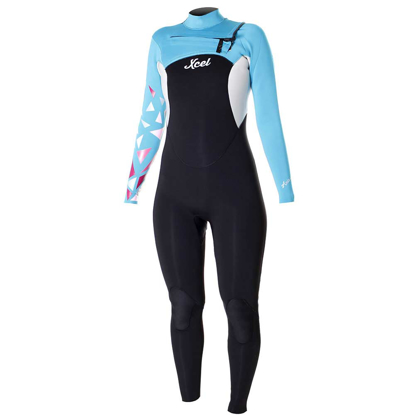 SURF OBLEKA XCEL AXIS COMP GRAPHITE 3/2MM L/S W