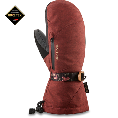 ROKAVICE DK 21 W SEQUOIA GORE-TEX MITT DARK ROSE S