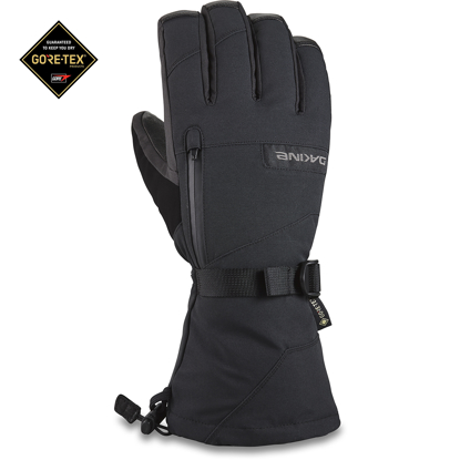 ROKAVICE DK 21 LEATHER TITAN GORE-TEX GLOVE BLACK L