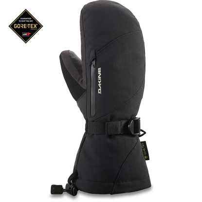 ROKAVICE DK 21 W LEATHER SEQUOIA GORE-TEX MITT BLACK L