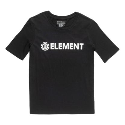 MAJICA EMT W ELEMENT LOGO S/S BLK XS