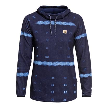 PULOVE DC W SALEM HO DARK BLUE MUD CLOTH B S