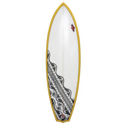 SURF DESKA NAISH POLY CUSTOM SB HYBRID 6´6 10