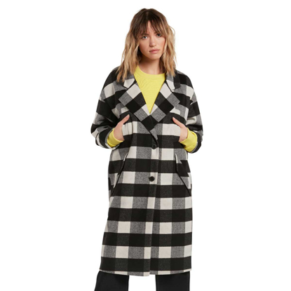 JAKNA VOL W OVER COAT BLK M