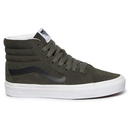 SP COP VANS W SK8-HI FOREST NIGHT/TRUE WHT 7,5
