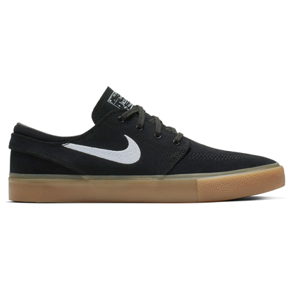 SP COP NIKE SB ZOOM STEFAN JANOSKI RM BLK/WHT/BLK/GUM LIGHT BROWN 10