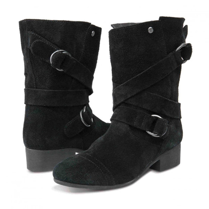 SP COP VOL W CHIC FLICK BOOT BLK 8