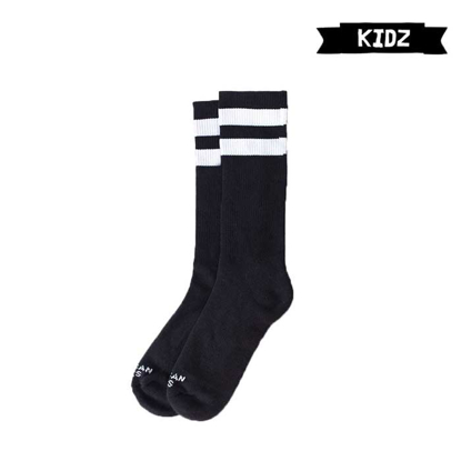 NOGAVICE AS KID BACK IN BLACK MID HIGH BLK/WHT/WHT TU