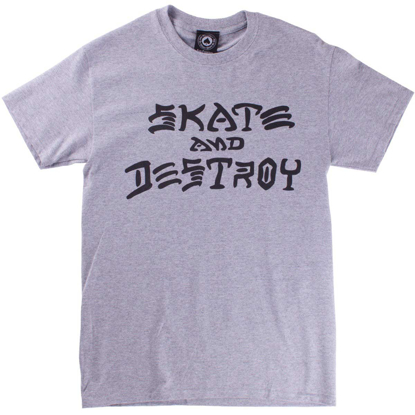MAJICA THR SKATE AND DESTROY S/S GRY M
