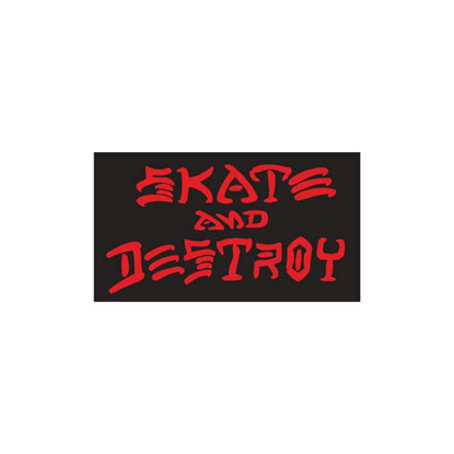 NALEPKA THR SKATE AND DESTROY MEDIUM BB TU