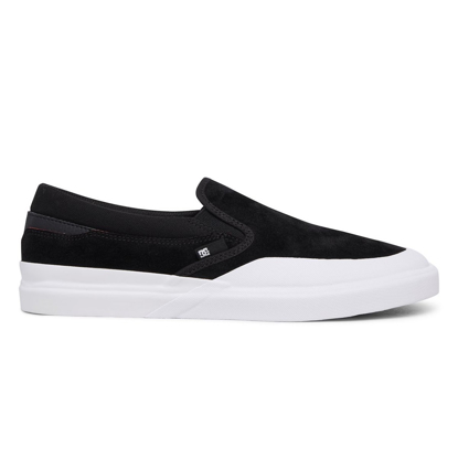 SP COP DC DC INFINITE SLIP-ON S BLK/WHT 8