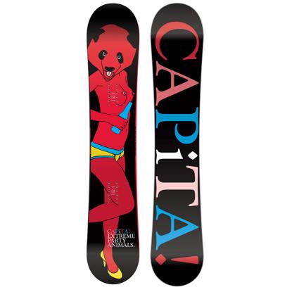 SNOWBOARD CAPITA PARTY PANDA 156