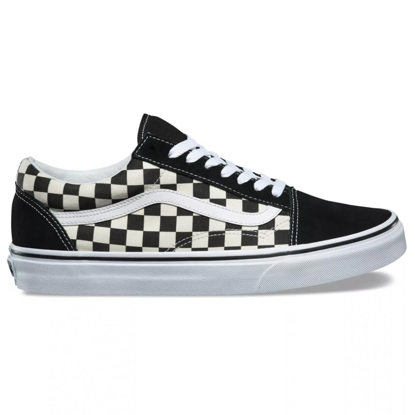 SP COP VANS W OLD SKOOL PRIMERY CHECK BLK/WHT 7,5