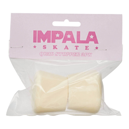 IMPALA 2PK STOPPER WITH BOLTS PASTEL YELLOW OS