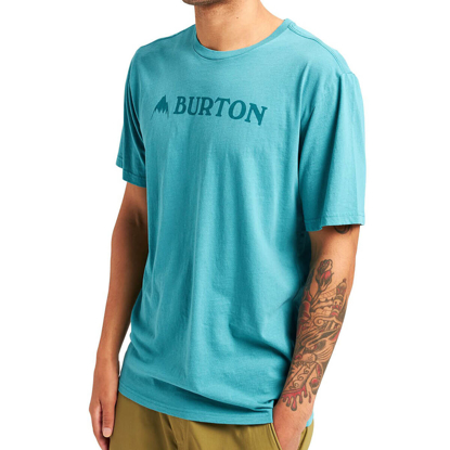 BURTON HORIZONTAL MTN T-SHIRT BRITTANY BLUE L