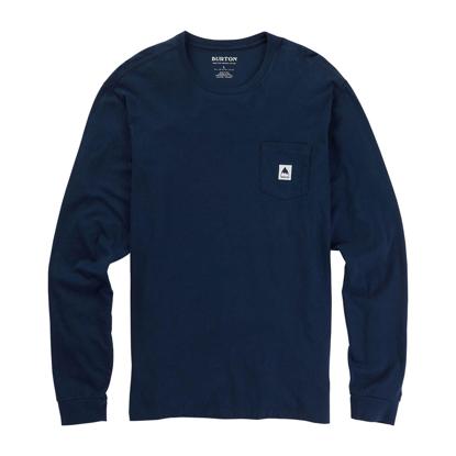 BURTON COLFAX LS DRESS BLUE L